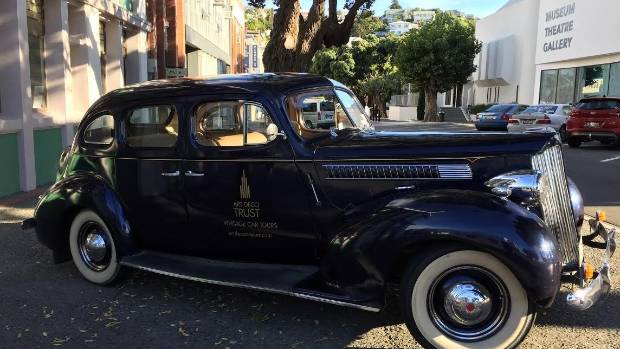 An art deco tour around Napier from the backseat of a 1966 Packard would be savoured by any history buff.