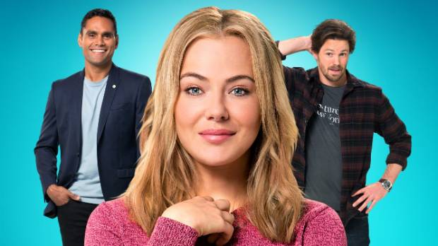 Breakfast TV producer Lily Woodward finds herself in the middle of a love triangle in The Wrong Girl.