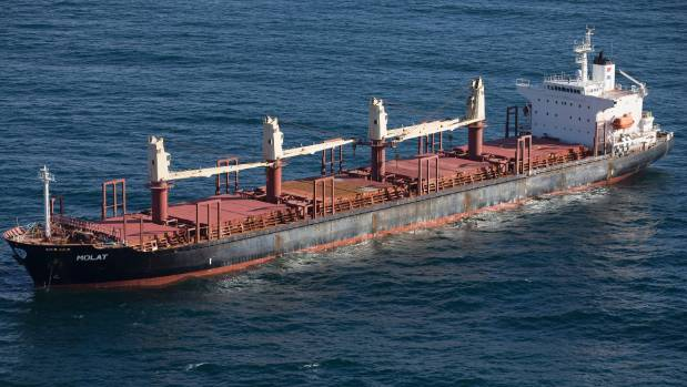 Bulker DL Marigold expelled from New Zealand over bio-threat from hull