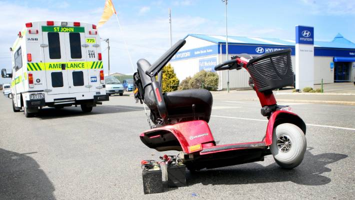 Adam died after falling his mobility scooter in 2017. (image file)