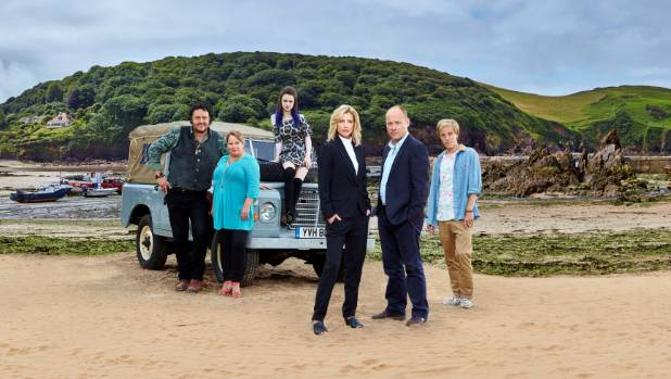 The Coroner is set in the fictional seaside location of Lighthaven in South Devon.