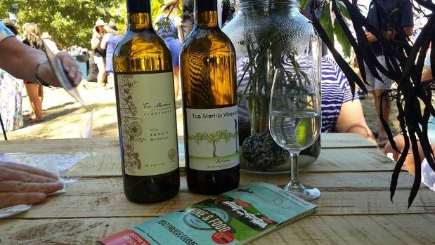 Tua Marina Arneis at the Marlborough Wine and Food Festival.