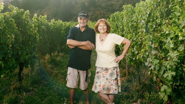 Lex Thomson and Franzi Grab of Tua Marina Vineyards
