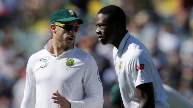 South Africa captain Faf du Plessis will have plenty of bowling firepower on the bouncy Basin Reserve, notably Kagiso Rabada.