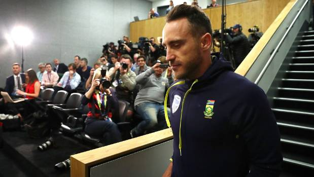 Du Plessis feels hard done by after Smith and Kohli escape suspensions