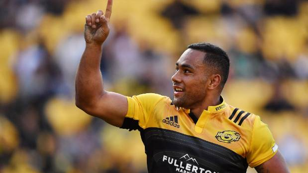 Ngani Laumape has scored three tries in the first two games for the Hurricanes.