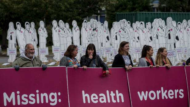 A coalition of health unions and community groups, YesWeCare.nz, have staged a national roadshow to protest underfunding ...