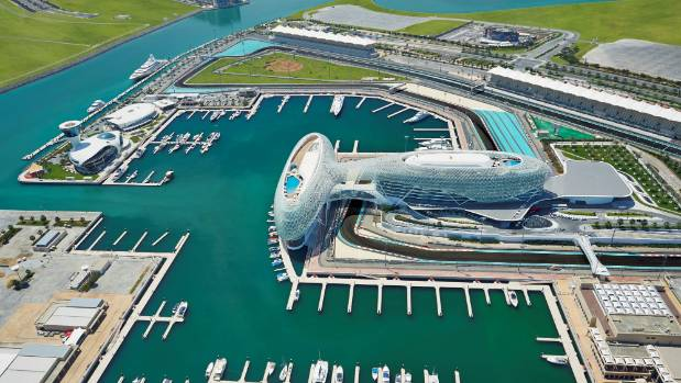 The Yas Viceroy is built on an F1 track.