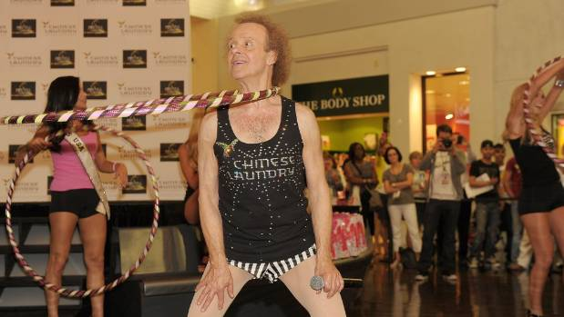 richard simmons shorts for sale. richard simmons wearing one of his trademark \ shorts for sale