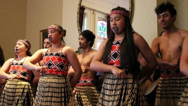 Pupils from Te Kura Kaupapa Māori o Ngā Mokopuna performed several waiata during the launch.