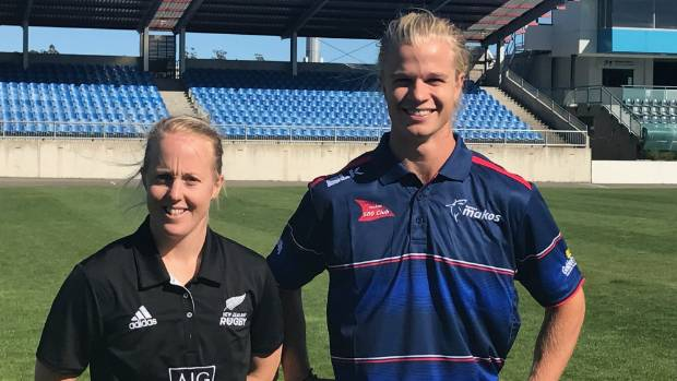 Kendra Cocksedge and George Vance have significant roles to play in the development of Tasman women's rugby.