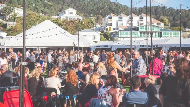 Wellington Wine and Food + Craft Beer Festival runs March 10 and 11 at Waitangi Park.