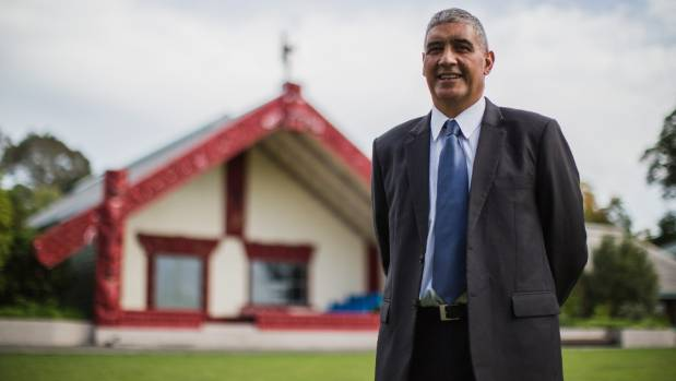 Princpial of Te Aute College Shane Hiha, who has helped bring the school back from the brink of closure.