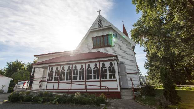 The chapel at Te Aute College.