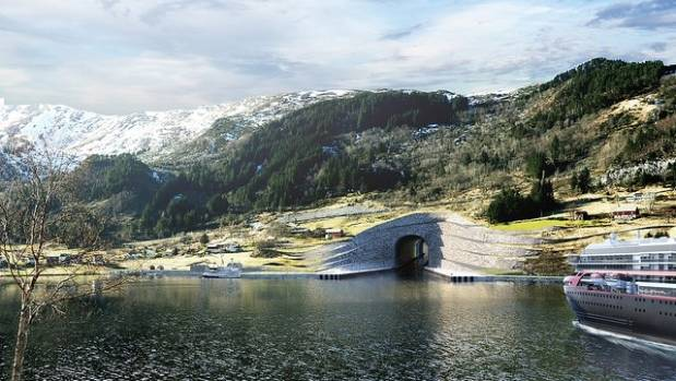 Construction of the 1.7 kilometre-long tunnel is expected to being in 2018. Pictured is an artist's impression of what ...