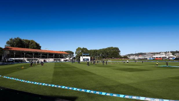 A stunning Dunedin day marked the three-test series opener at University Oval.