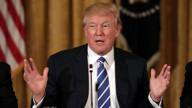 US President Donald Trump wasn't placed in any danger by the intruder