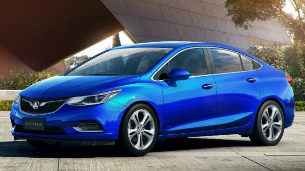 Korean-sourced Astra sedan will join European hatchback sibling on display at Fieldays.