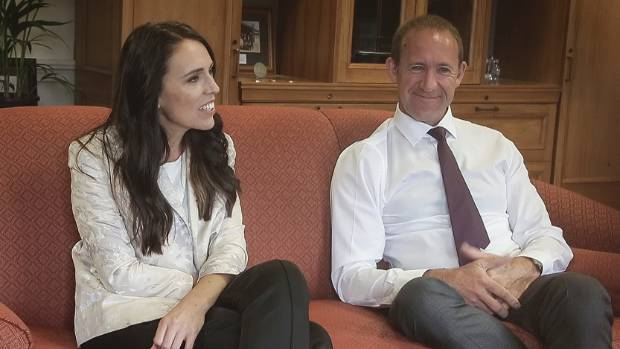 Labour's deputy Jacinda Ardern insisted she wouldn't pass leader Andrew Little in the popularity polls.