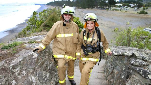 Lofty goals for fire crews at Sky Tower Challenge
