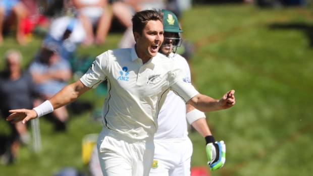 The wickets of Temba Bavuma and Keshav Maharaj in quick succession by Trent Boult helped hasten the end of South ...