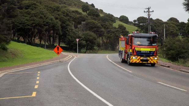 Fire crews are bracing for more rain on Waiheke Island.