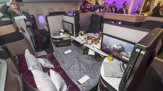 Qatar Airways Unveils New Qsuite Business Class Seats