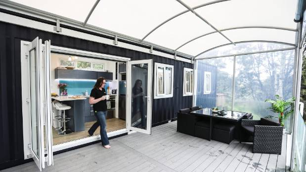 tiny house rent to own. Brenda Kelly\u0027s 8 Homestar Container House On Poles Is A Small Home That Works Very Well Tiny Rent To Own E