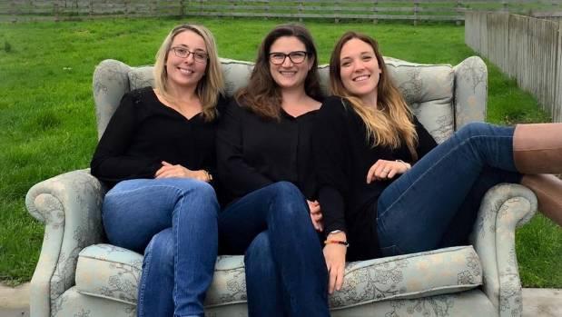 Meraki Workspace partners Rachel O'Rielly, Susanne Lorenz and Emma Sinclair.