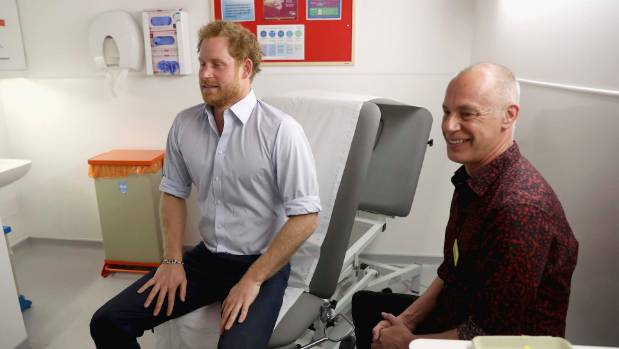Prince Harry is one of a number of celebrities who advocates for HIV treatment and support.