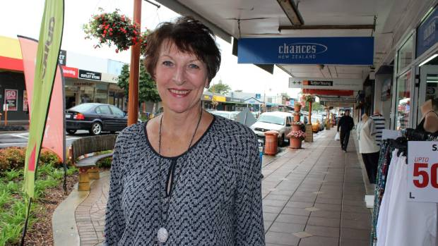 Just one of many retailers Janice Spring, is concerned about the growing parking issues in Morrinsville.