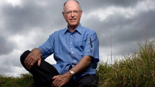 Former Reserve Bank governor, leader of the National Party, and the ACT Party, Don Brash. — Photograph: David White.