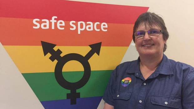 AUT Rainbow Community manager Audrey Hutcheson says providing safe facilities to all AUT students is about equity and ...