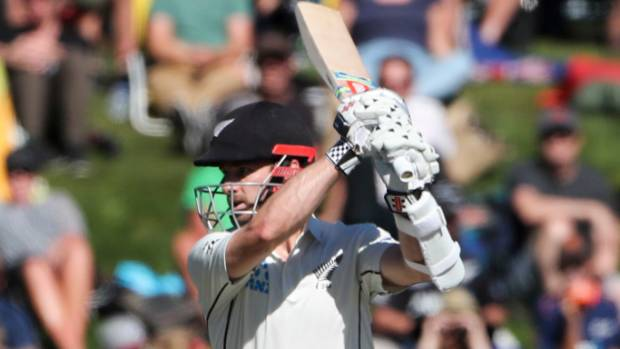 Kane Williamson held the New Zealand innings together.