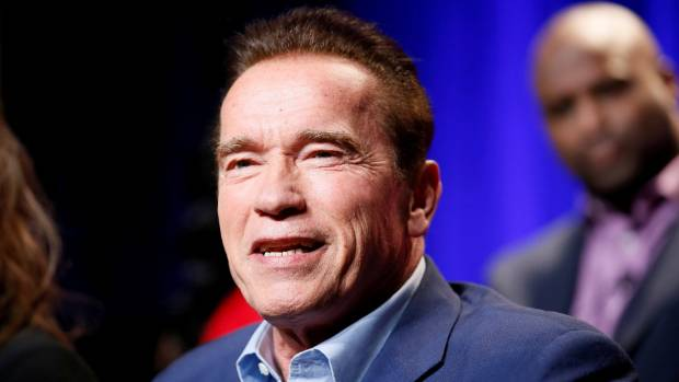 Schwarzenegger goes to Senate