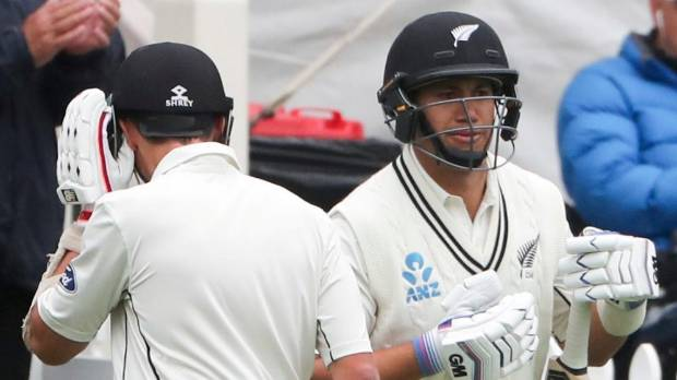 New Zealand's Ross Taylor returns to action.
