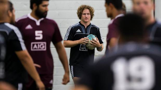 Manawatu hooker Chris Cairns at the New Zealand Under 20s development camp.