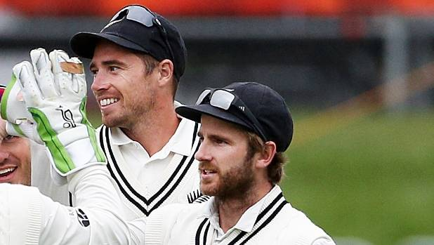 Tim Southee spent most of the first test fielding but will likely return to the bowling crease in Wellington.