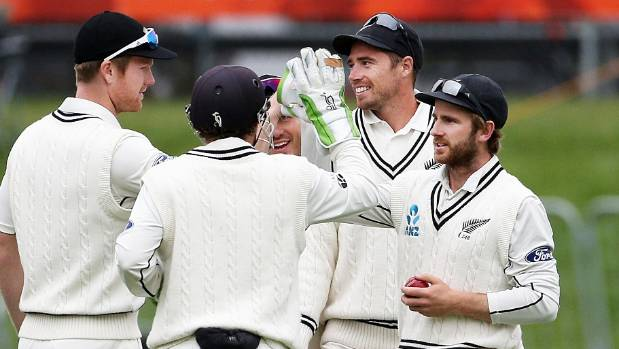 A substitute fielder in Dunedin, Tim Southee has been recalled to play the second test against South Africa.