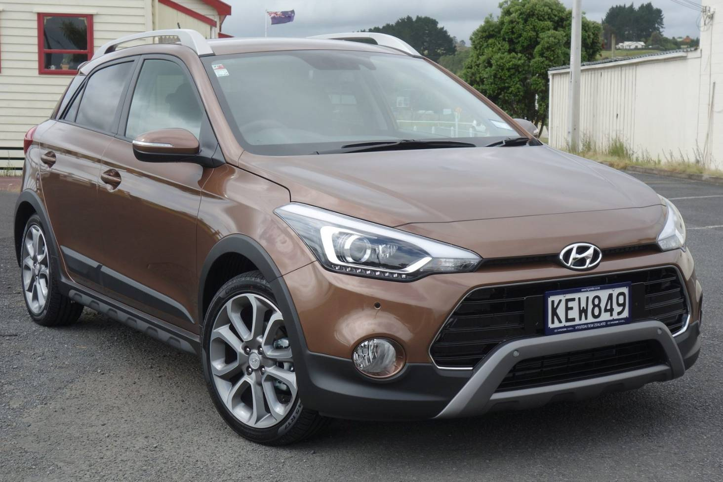 New I20 Cross Shows The Highs And Lows Of Hyundai Technology Stuff Co Nz