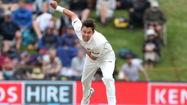 Key strike bowler Trent Boult is on track to come in for the third test in Hamilton.
