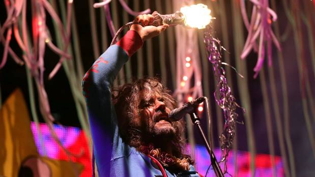 Wayne Coyne of The Flaming Lips performs at The Domain in Sydney, Australia, last year.