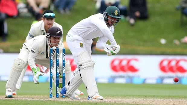South African dangerman Quinton de Kock has been dismissed four times out of four by New Zealand's Jeetan Patel this tour.