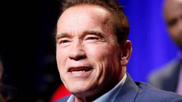 Arnold schwarzenegger trolls donald trump on approval ratings arnold schwarzenegger is the former host of the new celebrity apprentice malvernweather Images