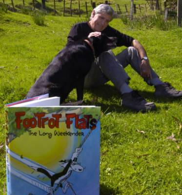 Murray Ball's Footrot Flats books showcased farm life in a most Kiwi way.