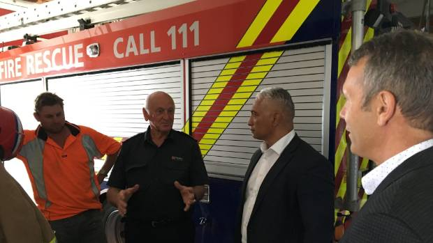 Damage to Kaikoura's buildings was a hot topic with visiting ministers Stuart Smith and Alfred Ngaro when they meet with ...