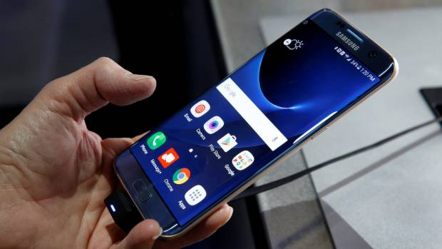 Samsung has pushed curved screens through recent iterations of its S-series flagship devices.