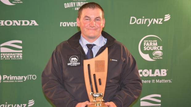Taupiri farmer Euan McLeod is the 2017 Waikato Dairy Manager of the Year.