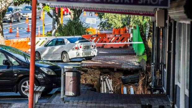 Flooding in New Lynn caused extensive damage to homes, infrastructure and businesses.