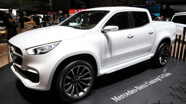 mercedes x class to miss out on amg treatment. Black Bedroom Furniture Sets. Home Design Ideas